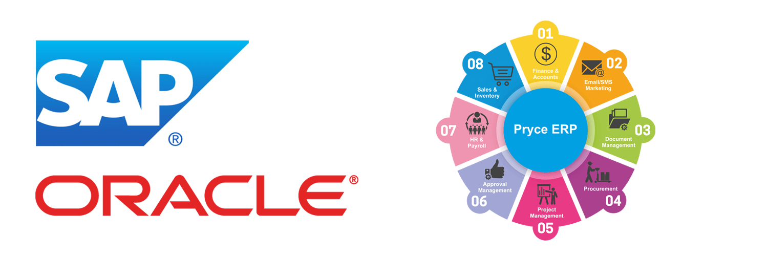 SAP and Oracle ERP expertise